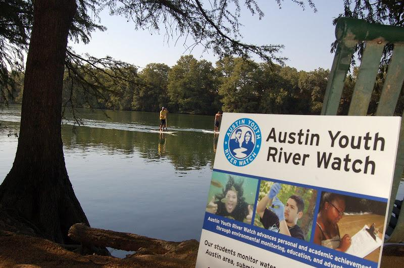 Austin Youth River Watch found low levels of Oxygen in the Colorado River.