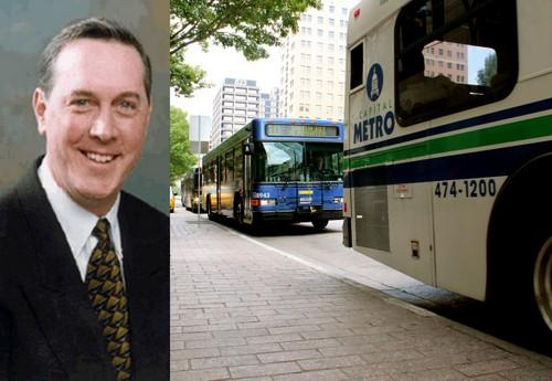 Cap Metro VP Doug Allen resigned yesterday.