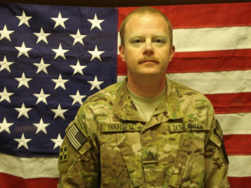 Sgt. John Hansen of Austin was killed in Afghanistan on July 26.