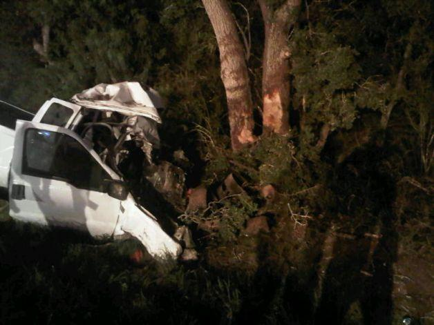 A truck carrying 23 passengers crashed in South Texas Sunday night, killing 13.
