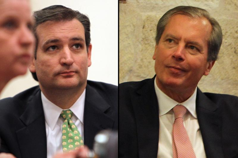 Lt Governor David Dewhurst will face former Solicitor General Ted Cruz in a run-off on July 31st.