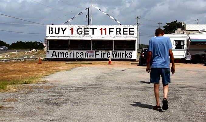 Sales started somewhat slowly at American Fireworks, but sellers expect them to pick up closer to the Fourth.