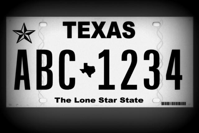 "Texas cars will feature the new ""Texas Classic"" license plate, at soon as counties run out of their current plate supply."