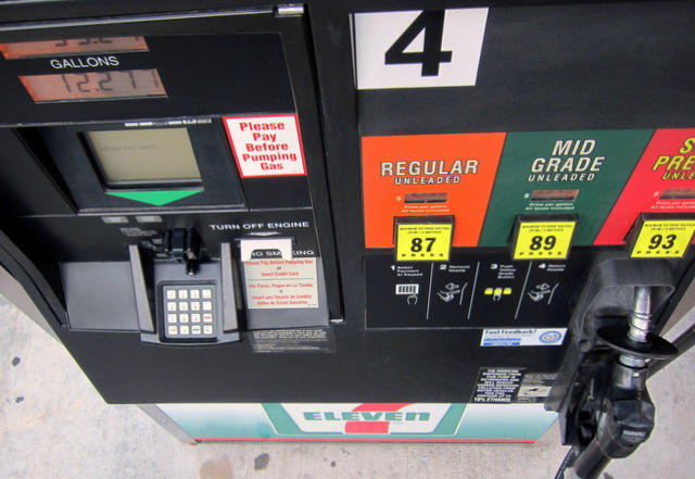 Prices are up ten cents across the state from last week.