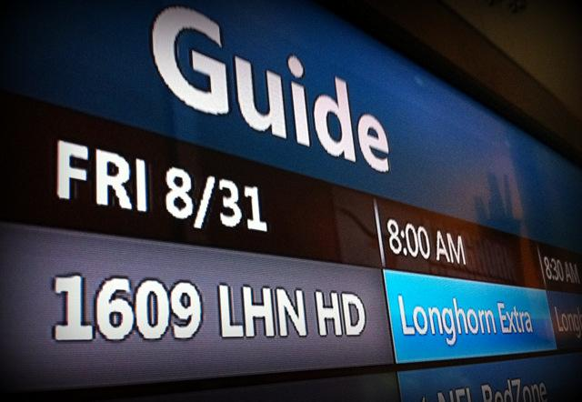 After a long wait, the Longhorn Network debuted this morning on an Austin TV provider.