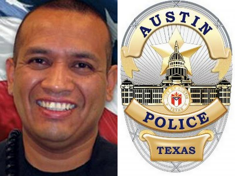 Officer Jaime Padron was killed in a shooting in April at an area Wal-Mart.