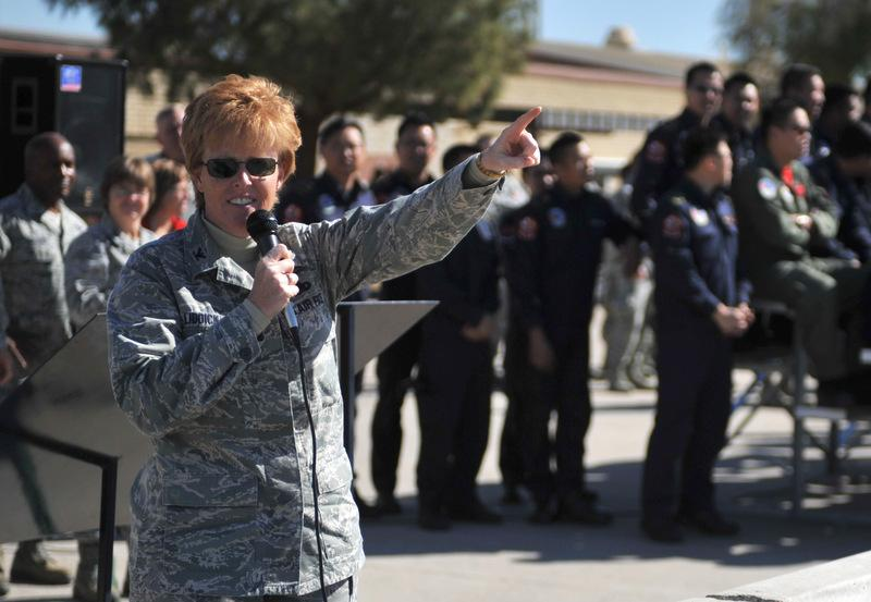 Col. Deborah Liddick was recently named to head Lackland Air Force Base's 737th Training Group.