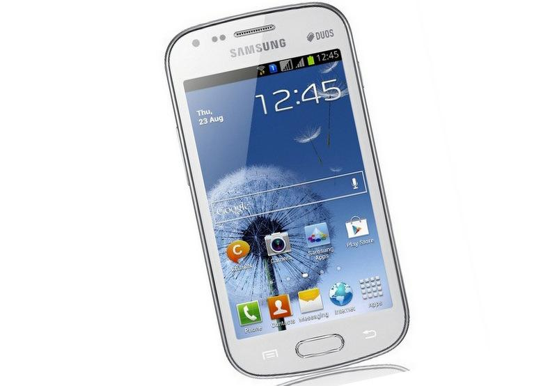 Samsung selected a small Austin semiconductor company to manufacture a power amplifier for its new Galaxy S Duos.