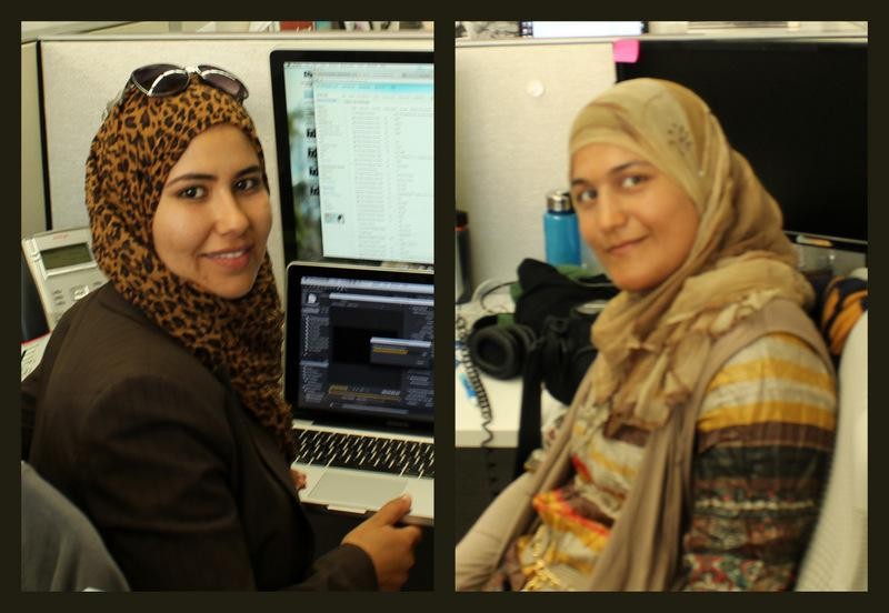 Khaoula Nagati and Salma Abed have been with the KUT News room the last few weeks.