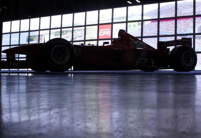 A racer seen at Austin's recent Formula 1 expo.