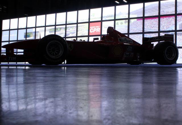 A racer seen at Austin's recent Formula 1 expo.