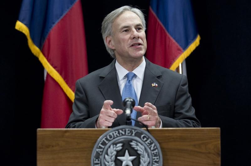 Texas Attorney General Greg Abbott.