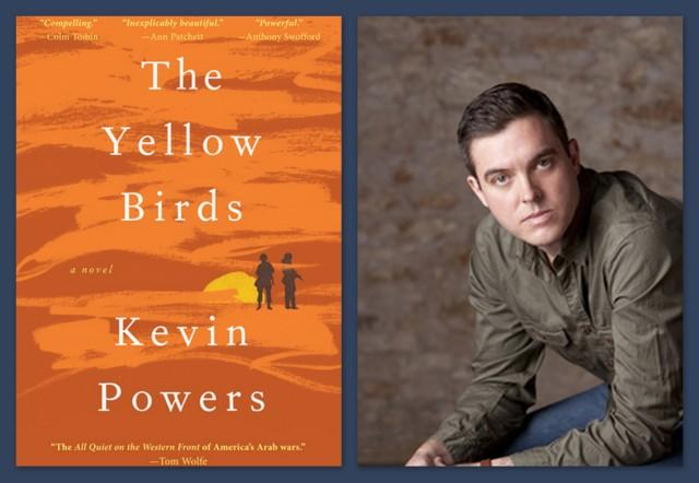 Author Kevin Powers' debut novel has garnered praise for its exploration of war's emotional toll.