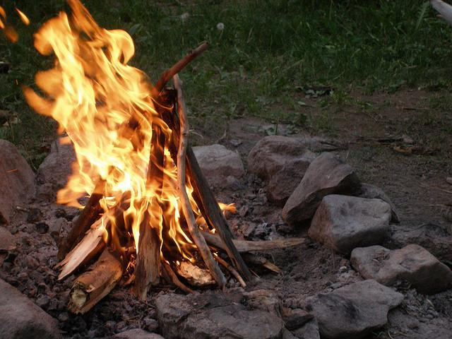 Outdoor burning is prohibited in unincorporated areas of Travis County.