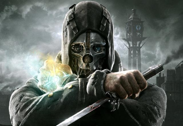 """Dishonored,"" pictured above, is one of Bethesda's newest titles."