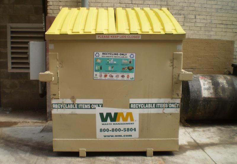 Rules requiring recycling at large apartment complexes and businesses take effect today.