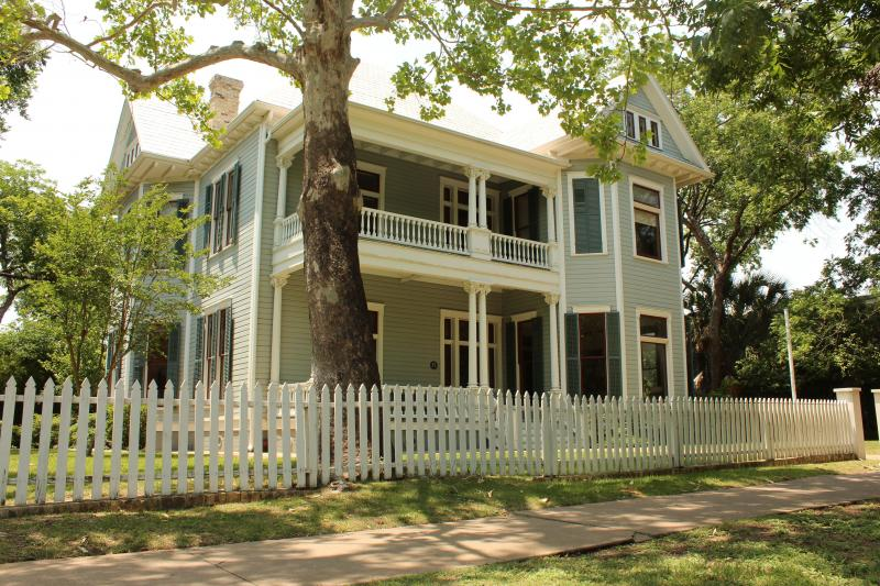 An historic home on San Gabriel Street in Austin.
