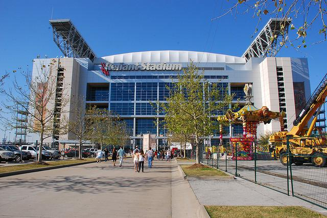 Reliant Stadium is in the running to host the Super Bowl in 2017.