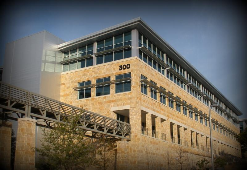 The southwest Austin campus of AMD. The chipmaker said today they plan to lay off 15 percent of its workforce worldwide.