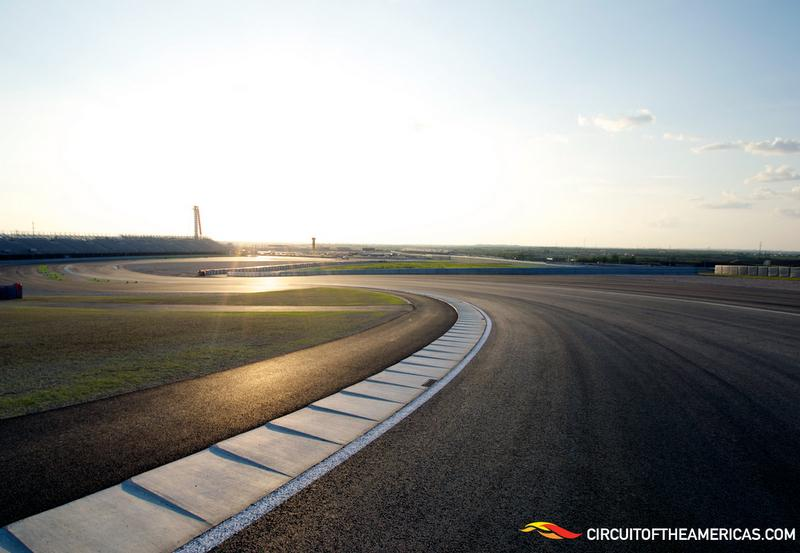 Brace yourself, F1 fans: This shot of the track at COTA may be the last empty roadway you see for a while.