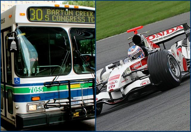 Capital Metro is offering expanded service during Formula 1 weekend. Which vehicle will get you around faster?