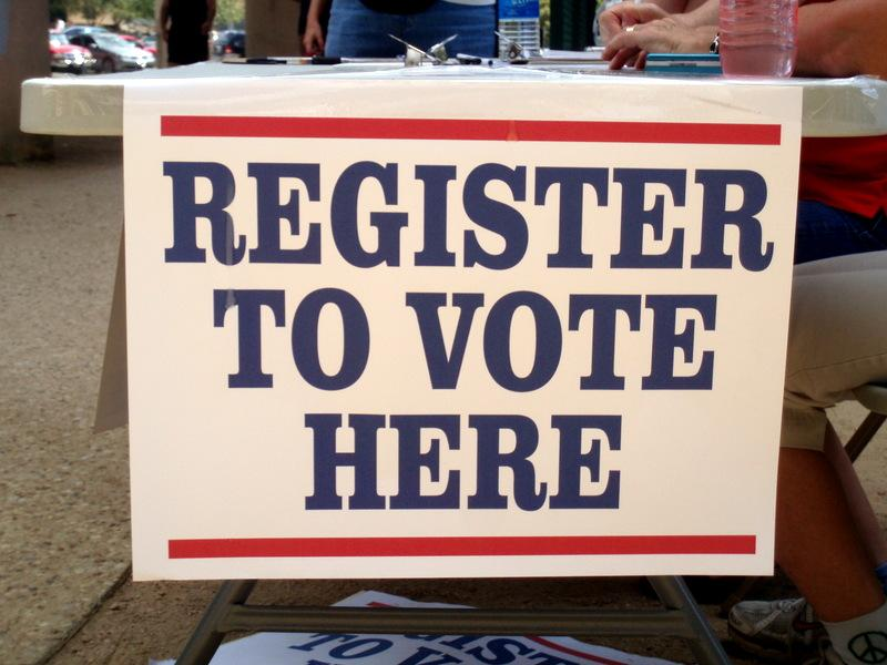 New or relocated voters should register for upcoming local elections by April 11.