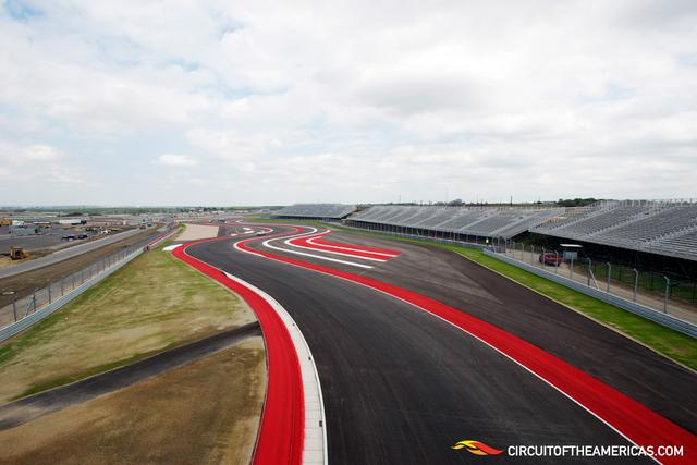 The tennis shoe rubber could meet the road of the Circuit of the Americas track.