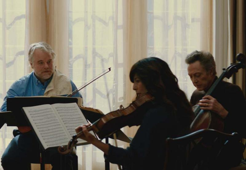 "Philip Seymour Hoffman, Catherine Keener and Christopher Walken star in ""The Last Quartet,"" playing at the Austin Film Festival."