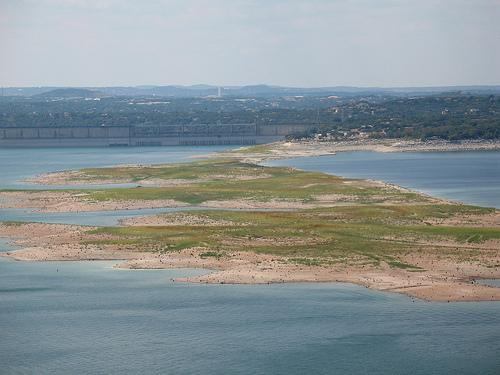 "The ""Sometimes Islands"" of Lake Travis have become permanent fixtures on the lake over the past few years."