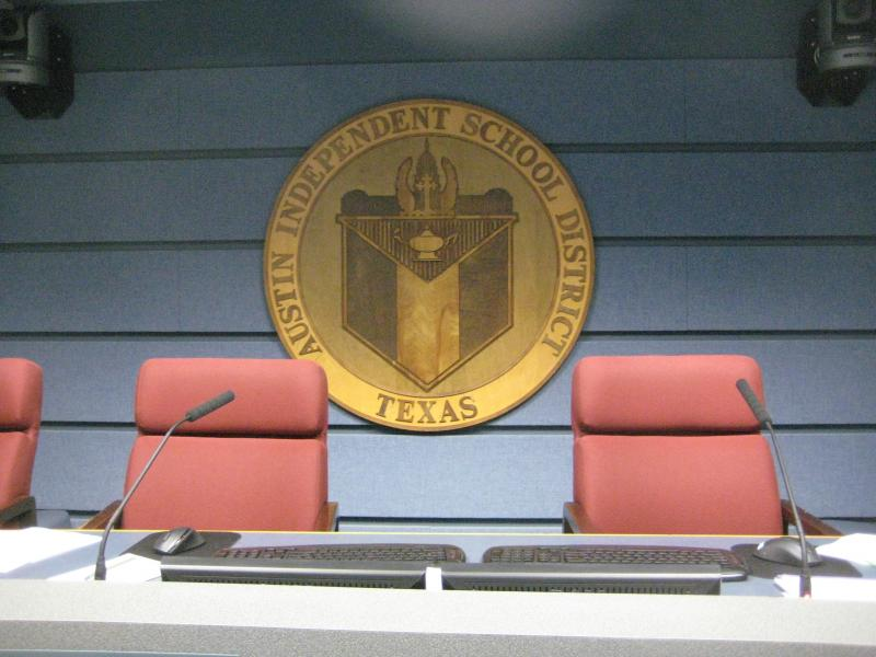 New members will soon take to the dais at AISD headquarters.