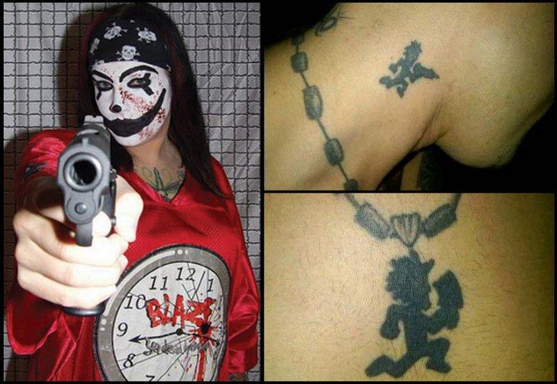 An anonymous cop says that Juggalo gangs may be responsible for a rise in crime downtown.