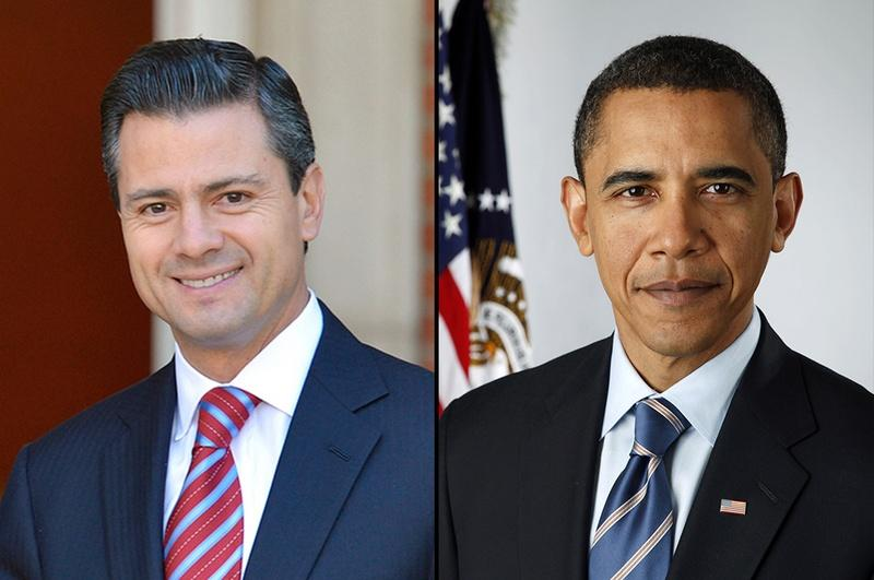 President-elect Enrique Peña Nieto is meeting with President Barack Obama.