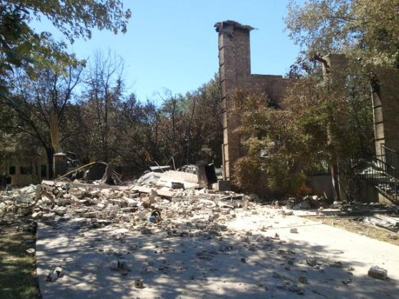 Kate Stein's home in Steiner Ranch was destroyed by fire in 2011.