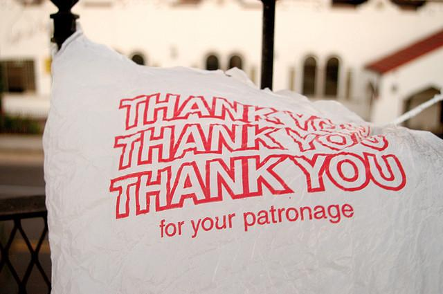 Some retailers thanked council today for exempting restaurants from Austin's bag ban; others felt it created a loophole.