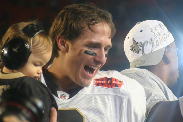 Drew Brees was named Super Bowl XLIV MVP.