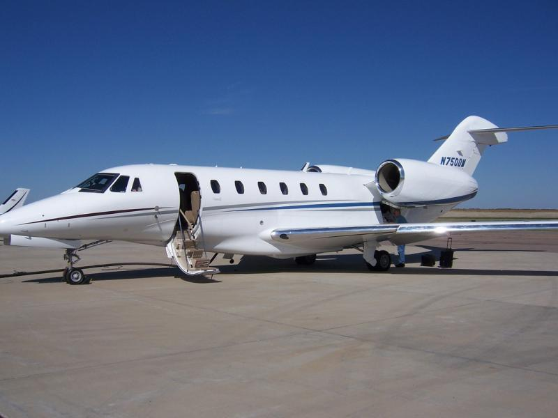 Private plane parking is filling up at area airports in advance of F1 race weekend.