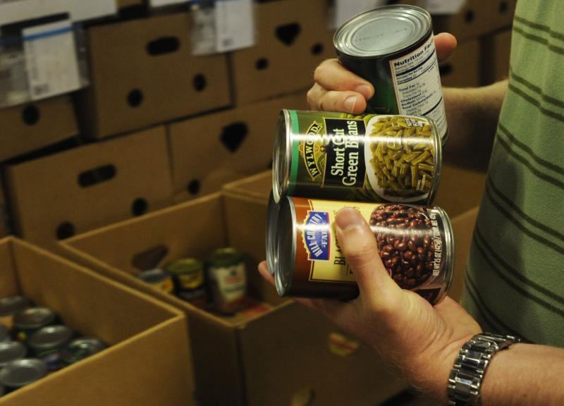 Food banks are able to get food at better prices than consumers.