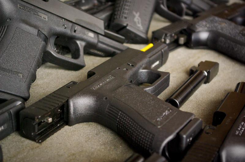 Gun shows take place about every month at the Travis County Exposition Center