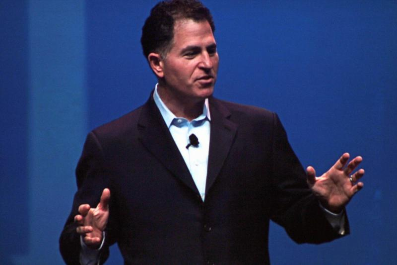 Michael Dell announced plans to partner with the the Clinton Global Initiative University today.