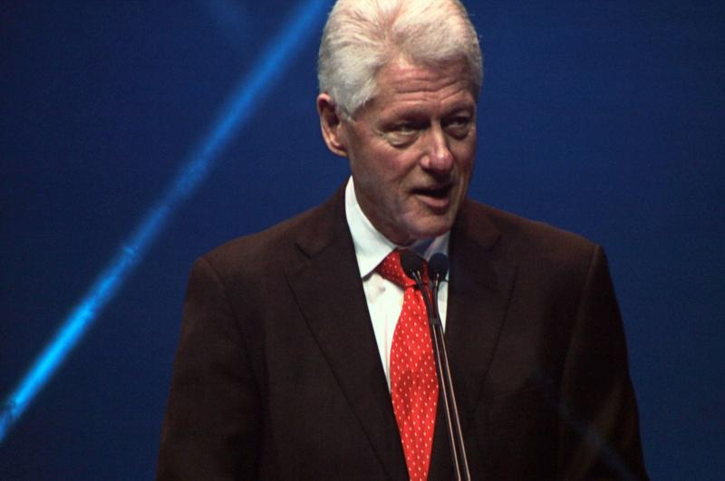 Clinton adressed the Dell World 2012 conference today.