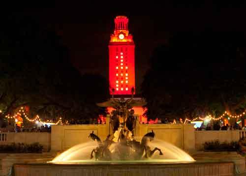 Aggie fans got a little overzealous about the UT Tower's configuration this weekend.