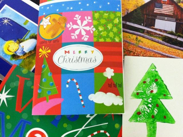 Llorence says the holidays shouldn't be the only time we think to send a handwritten note.