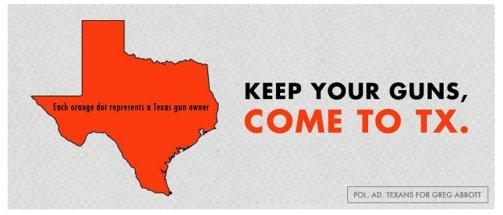 """""""Here in Texas, you will have the liberty and the opportunity to achieve your dreams."""""""