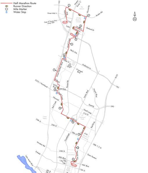 Road closures and detours for the 3M Half Marathon.