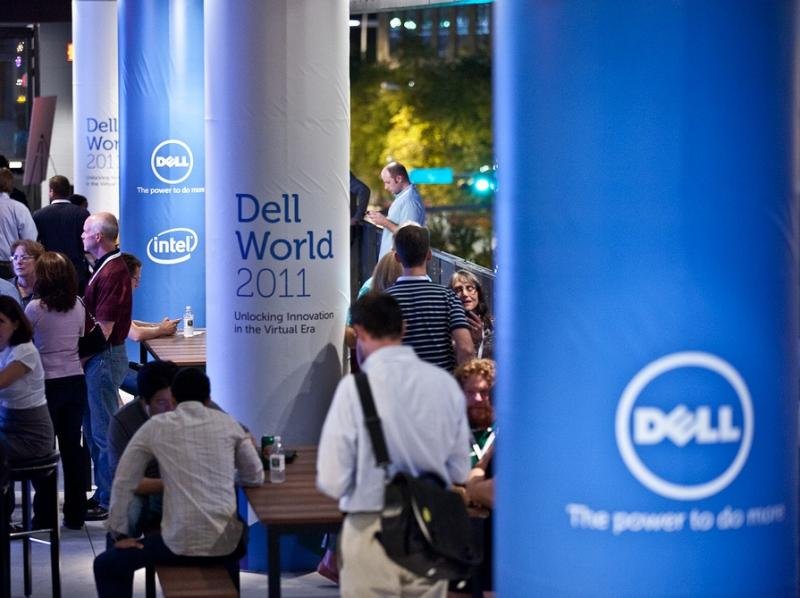 The 2011 Dell World conference, during Dave Johnson's tenure at the company.