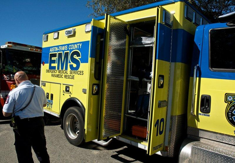 EMS on the scene in Austin. The Public Safety Commission recommends an audit of the agency.