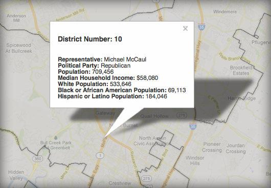 The U S Census Bureau Is Now Releasing Demographic Breakdowns On Individual Congressional Districts Google Maps