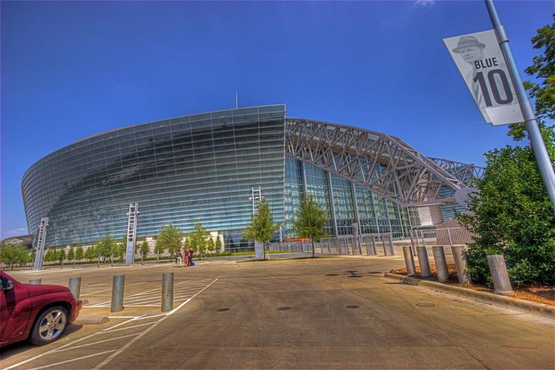 The Cotton Bowl Classic is taking place in Cowboys Stadium tonight.
