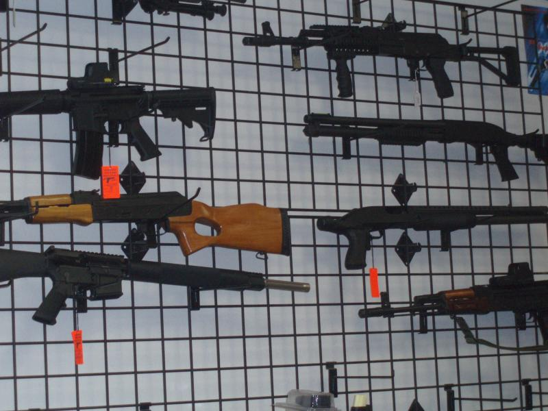 Measures under debate could restrict the sale of some firearms.