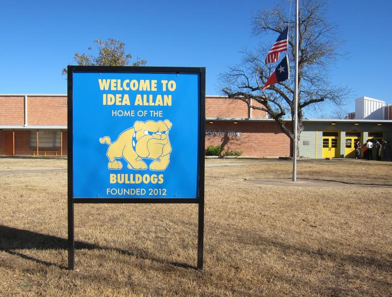 IDEA Public Schools took over operations at Allan Elementary last Fall.